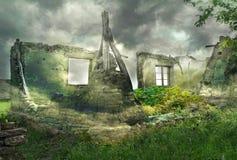 Φανταστικές καταστροφές Στοκ φωτογραφία με δικαίωμα ελεύθερης χρήσης