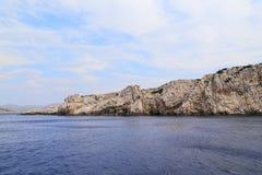 Φανταστική ακτή στην Κροατία Στοκ εικόνα με δικαίωμα ελεύθερης χρήσης