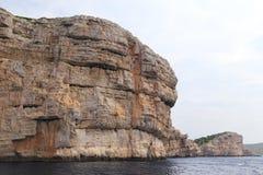 Φανταστική ακτή στην Κροατία Στοκ φωτογραφίες με δικαίωμα ελεύθερης χρήσης