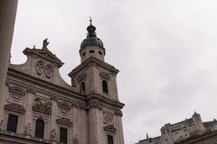 Φανταστική εκκλησία στα βουνά Στοκ Εικόνες
