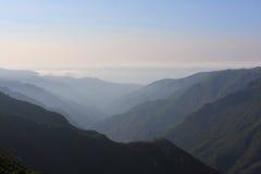 Φανταστική θέα βουνού στη Μαδέρα στοκ φωτογραφία με δικαίωμα ελεύθερης χρήσης