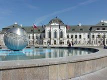 Φανταστική Μπρατισλάβα: Κτήριο του Κοινοβουλίου Στοκ Εικόνα