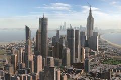 Φανταστική πόλη 49 στοκ εικόνες με δικαίωμα ελεύθερης χρήσης