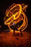 Φανταστικοί αριθμοί πυρκαγιάς Στοκ εικόνες με δικαίωμα ελεύθερης χρήσης
