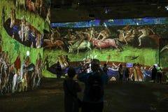 Φανταστικός και θαυμάσιος κόσμος Bosch, Brueghel και Arcimboldo Στοκ φωτογραφίες με δικαίωμα ελεύθερης χρήσης