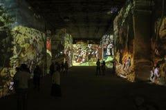 Φανταστικός και θαυμάσιος κόσμος Bosch, Brueghel και Arcimboldo Στοκ εικόνα με δικαίωμα ελεύθερης χρήσης
