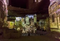 Φανταστικός και θαυμάσιος κόσμος Bosch, Brueghel και Arcimboldo Στοκ Εικόνα