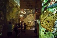 Φανταστικός και θαυμάσιος κόσμος Bosch, Brueghel και Arcimboldo Στοκ Εικόνες