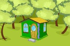 Σπίτι στο ξύλο ελεύθερη απεικόνιση δικαιώματος