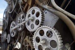 Φανταστικός μηχανισμός μιας ατμός-μηχανής Στοκ φωτογραφίες με δικαίωμα ελεύθερης χρήσης