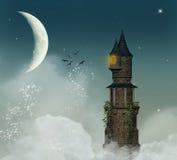 φανταστικός πύργος Στοκ φωτογραφία με δικαίωμα ελεύθερης χρήσης