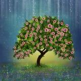 Φανταστικό δέντρο στοκ εικόνες