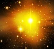 Φανταστικό αστέρι Στοκ Εικόνες