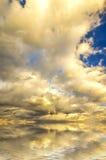 Φανταστικό ηλιοβασίλεμα στοκ εικόνες