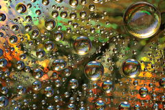 φανταστικό ύδωρ γυαλιού &alpha Στοκ εικόνα με δικαίωμα ελεύθερης χρήσης