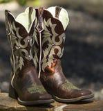 Φανταχτερές δυτικές μπότες Στοκ Εικόνα