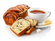 φανταχτερό γλυκό τσάι φλυ& Στοκ φωτογραφίες με δικαίωμα ελεύθερης χρήσης