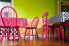 Φανταχτερό εσωτερικό καφέδων Στοκ Φωτογραφίες