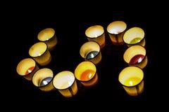 Φανταχτερό κερί αρώματος Στοκ φωτογραφίες με δικαίωμα ελεύθερης χρήσης
