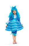 φανταχτερό κορίτσι φορεμά&t στοκ φωτογραφία