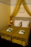 φανταχτερό ξενοδοχείο κρεβατοκάμαρων Στοκ εικόνες με δικαίωμα ελεύθερης χρήσης