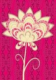 φανταχτερό ροζ λουλου&de ελεύθερη απεικόνιση δικαιώματος