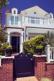 Φανταχτερό σπίτι διακοπών - Coronado, Σαν Ντιέγκο ΗΠΑ Στοκ φωτογραφία με δικαίωμα ελεύθερης χρήσης