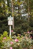 Φανταχτερό σπίτι πουλιών Στοκ φωτογραφίες με δικαίωμα ελεύθερης χρήσης
