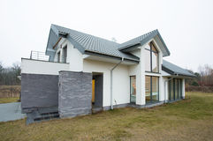 Φανταχτερό σχέδιο της κατοικίας Στοκ Εικόνες