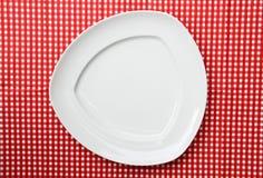 φανταχτερό platter πιάτων εξυπηρ&eps Στοκ φωτογραφία με δικαίωμα ελεύθερης χρήσης