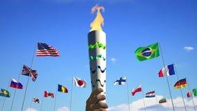 Φανός και σημαίες, τρισδιάστατο φιλμ μικρού μήκους