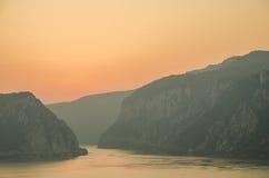 Φαράγγια Δούναβη στοκ εικόνες