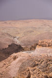 Φαράγγια Dades, υψηλός άτλαντας, Μαρόκο, Αφρική Οδική άποψη Στοκ εικόνα με δικαίωμα ελεύθερης χρήσης
