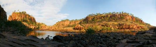 Φαράγγι Αυστραλία της Katherine Στοκ Εικόνες