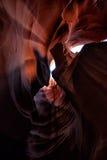 Φαράγγι αυλακώσεων στην Αριζόνα Στοκ Εικόνα