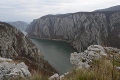 Φαράγγι Δούναβη Στοκ φωτογραφία με δικαίωμα ελεύθερης χρήσης