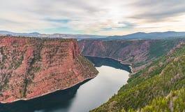 φαράγγι κόκκινο Utah Στοκ Εικόνα
