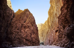 φαράγγι Μαροκινός Στοκ φωτογραφία με δικαίωμα ελεύθερης χρήσης