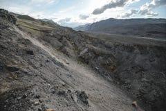 Φαράγγι μετά από τον ογκώδη σεισμό Στοκ Εικόνες