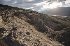 Φαράγγι μετά από τον ογκώδη σεισμό Στοκ εικόνες με δικαίωμα ελεύθερης χρήσης