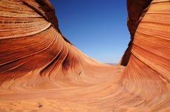 Φαράγγι-πορφυρή αγριότητα απότομων βράχων Paria, Αριζόνα, ΗΠΑ Στοκ Φωτογραφία