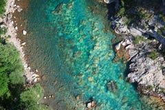Φαράγγι ποταμών της Tara Στοκ Εικόνες