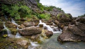 Φαράγγι ποταμών Cijevna Στοκ εικόνες με δικαίωμα ελεύθερης χρήσης