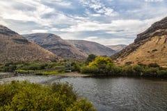Φαράγγι ποταμών Yakima Στοκ Φωτογραφίες