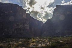 Φαράγγι της Elena Santa, μεγάλο εθνικό πάρκο κάμψεων στοκ φωτογραφίες