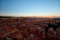 Φαράγγι του Bryce Στοκ φωτογραφία με δικαίωμα ελεύθερης χρήσης