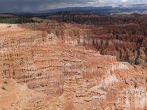 Φαράγγι του Bryce amphiteater, καταπληκτική άποψη στοκ εικόνα με δικαίωμα ελεύθερης χρήσης