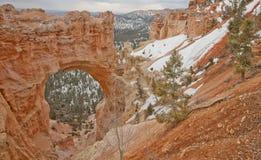 φαράγγι φυσικό Utah γεφυρών bryce Στοκ Εικόνες