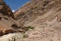 Φαράγγι Cotahuasi, Περού στοκ φωτογραφίες