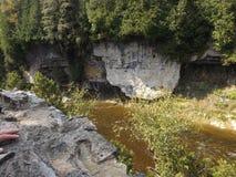 Φαράγγι Elora στοκ εικόνα